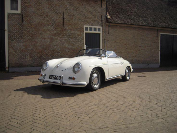 Porsche 356 Speedster  http://trouwautos.nu/trouwautos/porsche-356-speedster/