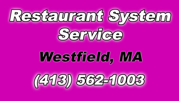 Restaurant Fire Suppression System Service near by me for Local Westfield MA Restaurants (413) 562-1003 ..So After working two jobs and putting yourself thro...