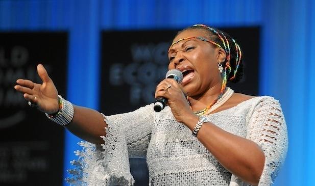 Yvonne Chaka Chaka performs at 2013 World Economic Forum - Relate