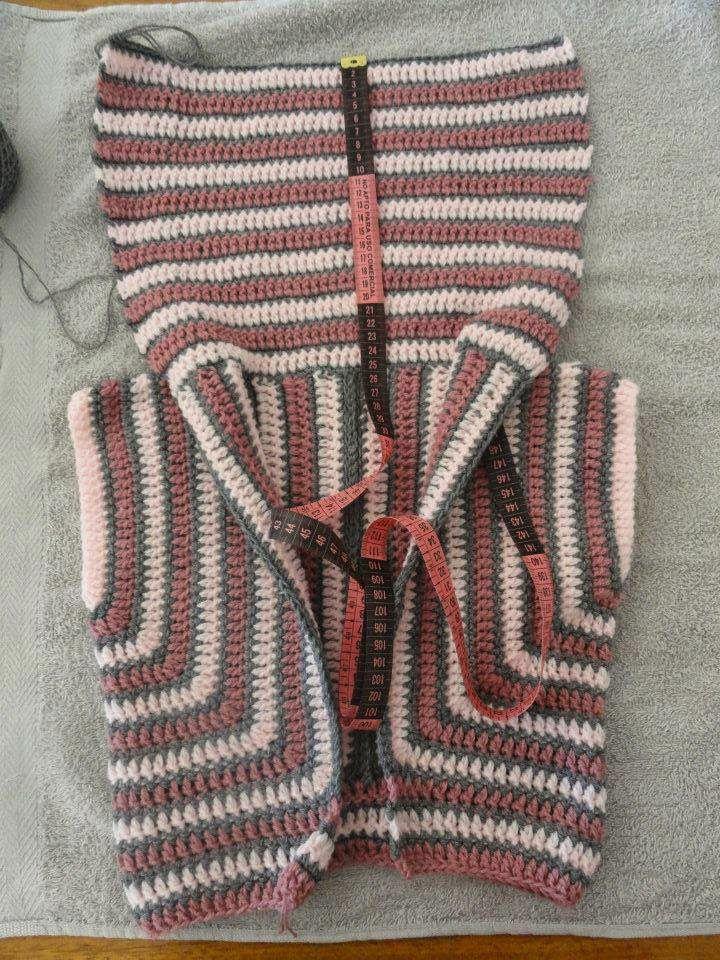 361 best Häkeln Jacke Bolero Weste / crochet Jacket & Vest images on ...