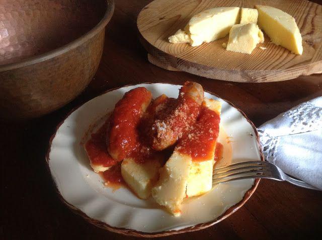 Pane e vino blog: LA POLENTA DI TOSSIGNANO. Per Il Calendario del Ci...