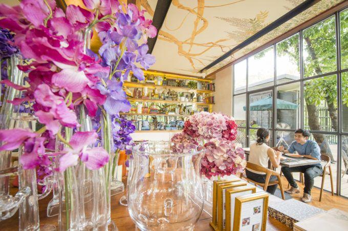 華麗なる一族の邸宅庭園に佇むタイ料理レストラン「ma maison」