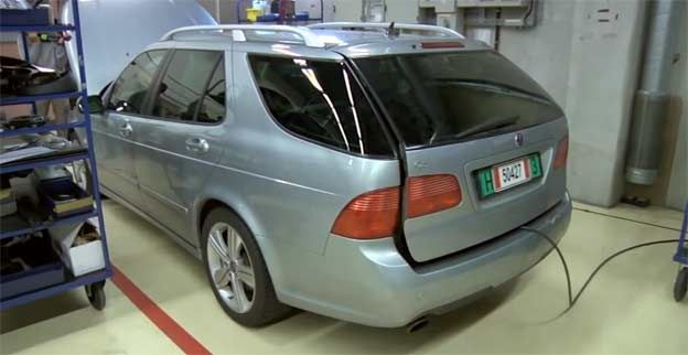 "Future ""Free Valve technology"" already running in a Saab 9-5 test mule"