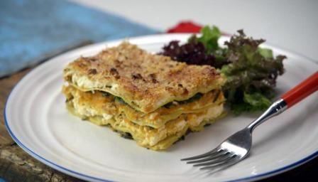 BBC Food - Recipes - Butternut and sweet potato lasagne