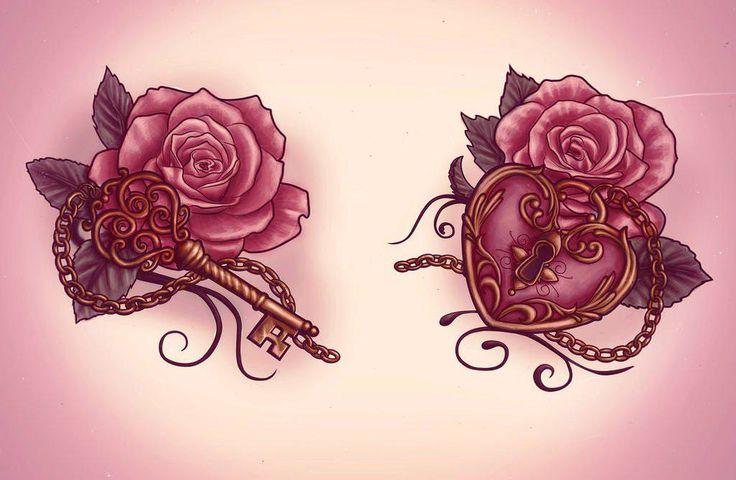 Image of: Best Key Tattoo Designs Ideas