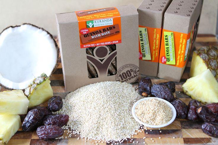 Quinoa Lunchbox Nut Free Snacks