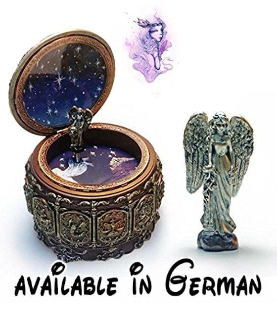 ... Geschenk Valentinstag Geschenk (Jungfrau). Name: Zwölf Konstellation  Spieldose Material: Umweltfreundliches Harz. Bewegung: Japan Sankyo  Bewegung ...