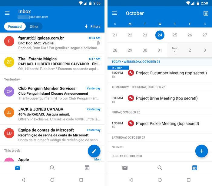 Best Android Email Apps Outlook App Android Messaging App