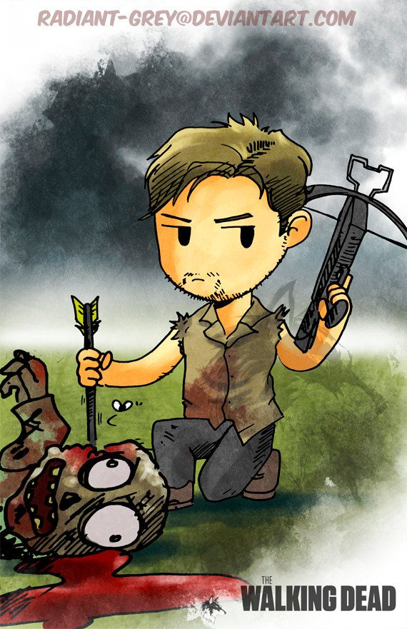 Daryl Dixon - For more TWD & Zombies visit us https://www.facebook.com/ZombieCPC