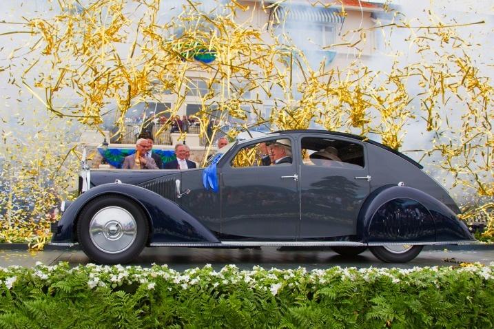 1934 Voisin C-25 Aerodyne owned by Peter Mullin: Nice body!  #Cars #Voisin_C25_Aerodyne: Pebble Beaches, Concour Beaches, Voisin C25, C25 Aerodyn, Getaways Cars, 1934 Voisin, C 25 Aerodyne, Voisin C 25, Concour Of Elegant