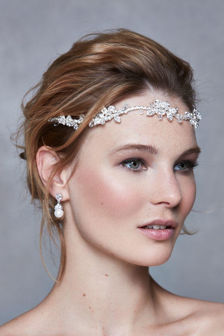 Hair accessories headbands uk - The Contemporary Iris Headband Is A Stunning Choice Www Wed2b Co