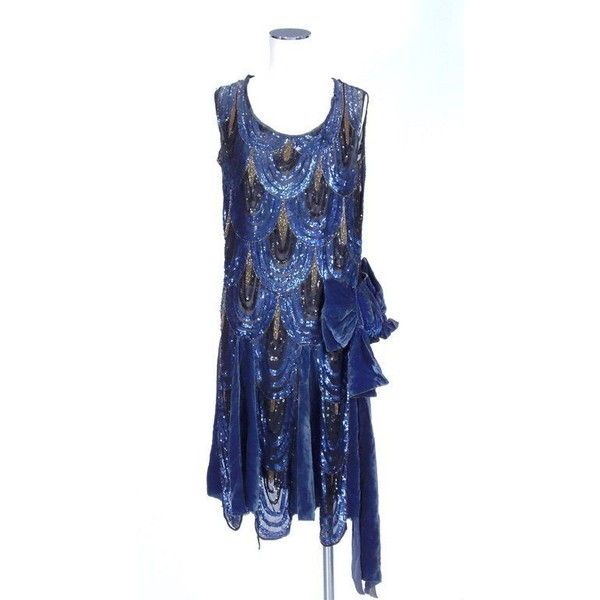 Vintage Style 1920s Flapper Dresses for Sale ❤ liked on Polyvore