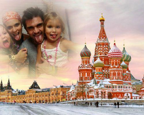 Fotomontaje en Rusia