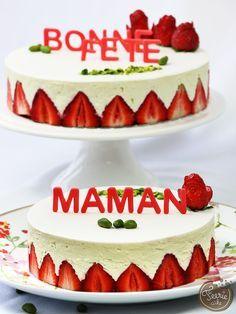 Fraisiers pistache - Féerie cake
