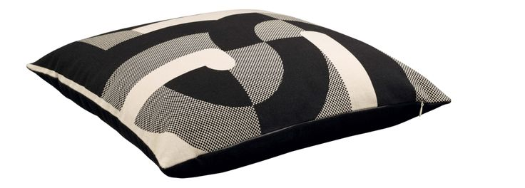 50 - Multicoloured 50 years cushion, 45 x 45 cm - Habitat