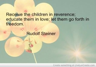Rudolf Steiner Quote Picture by Nomadmomma - Inspiring Photo