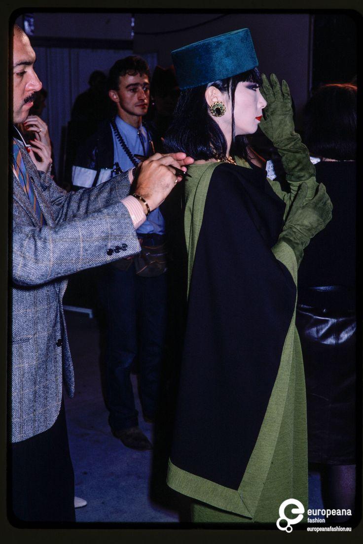 Fashion show Yves Saint Laurent on www.europeanafashion.eu