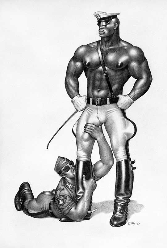 drawings of tom of finland gay