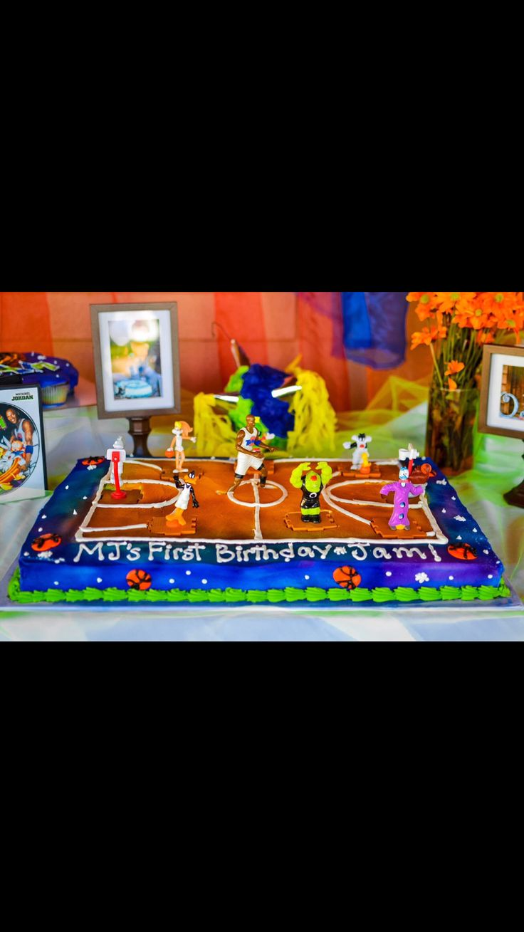 Space Jam Cake Space Jam Party Pinterest Space Jam