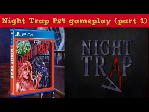 Night Trap Ps4 - gameplay 1 - Jacobo García - Interfaz coleccionista - YouTube