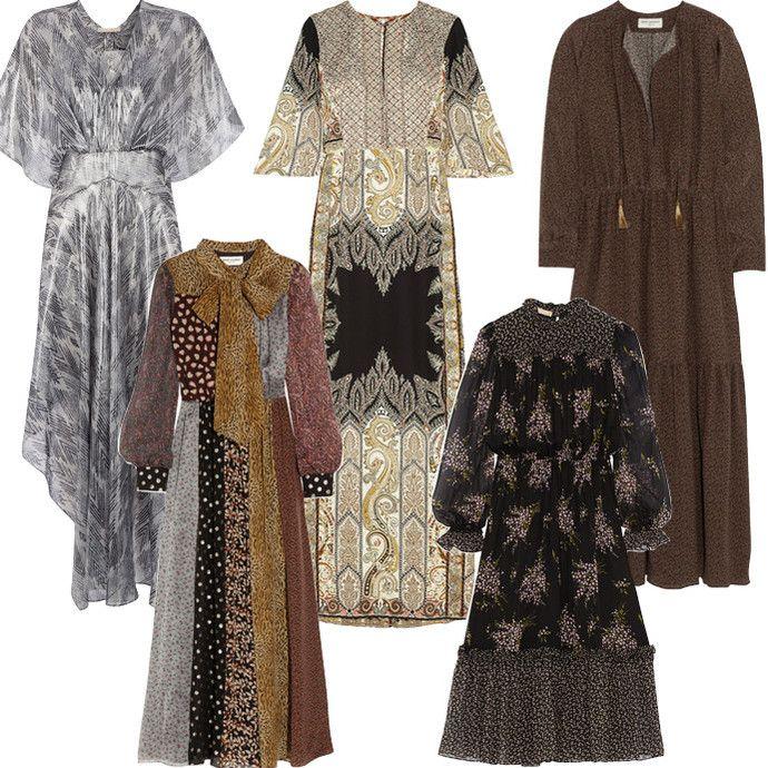 Бохо-платье