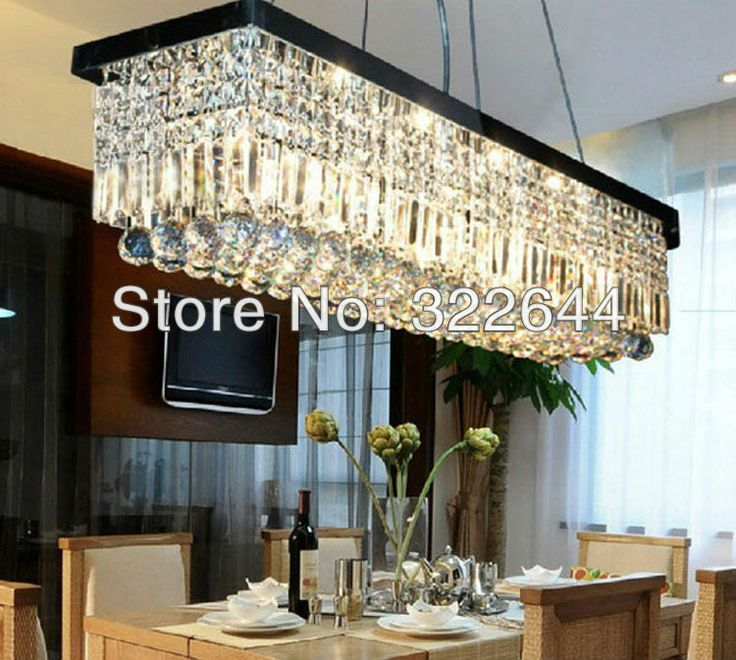 100cm Modern Contemporary Crystal Pendant Light Ceiling Lamp Chandelier Lighting On AliExpress 29500