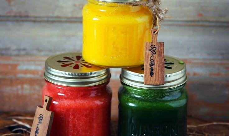 3 фруктовых смузи » Рецепты » Кулинарный журнал Насти Понедельник. Кулинарные рецепты с фото.