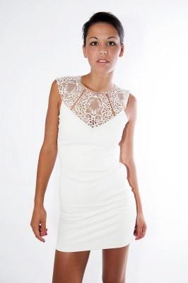 Ted Baker jurk met kant | Fashionistic Webshop Dameskleding