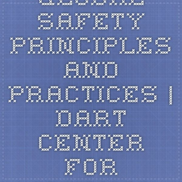 Global Safety Principles and Practices | Dart Center for Journalism & Trauma