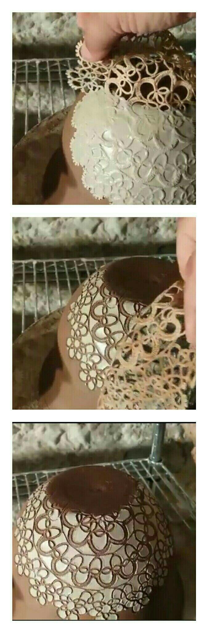 Image result for plato de ceramica parece tejido