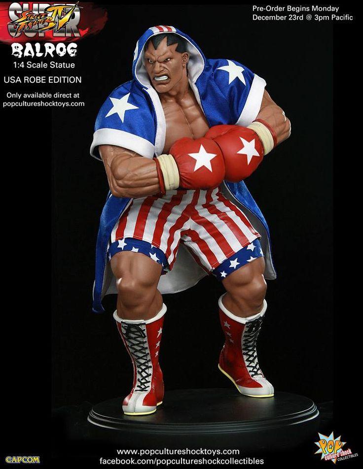 [POP CULTURE SHOCK] Super Street Fighter IV: Estátua do boxeador Balrog