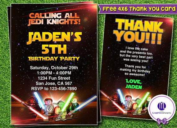 Free Star Wars Birthday Invitation Templates ~ Best birthday invitation templates images