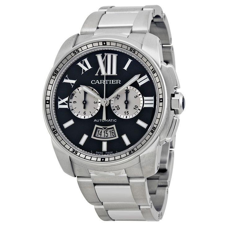 Cartier Calibre de Men's Luxury Watch W7100061