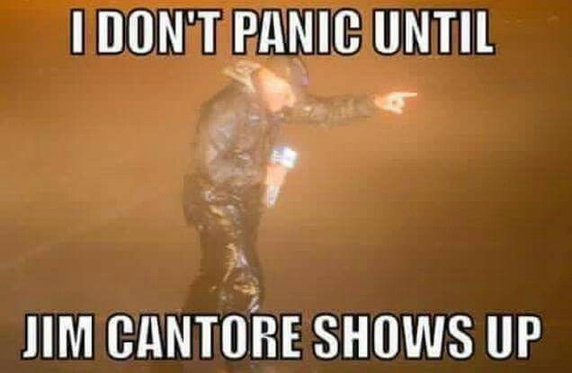 """""""I don't panic until Jim Cantore shows up."""" #theweatherchannel"""