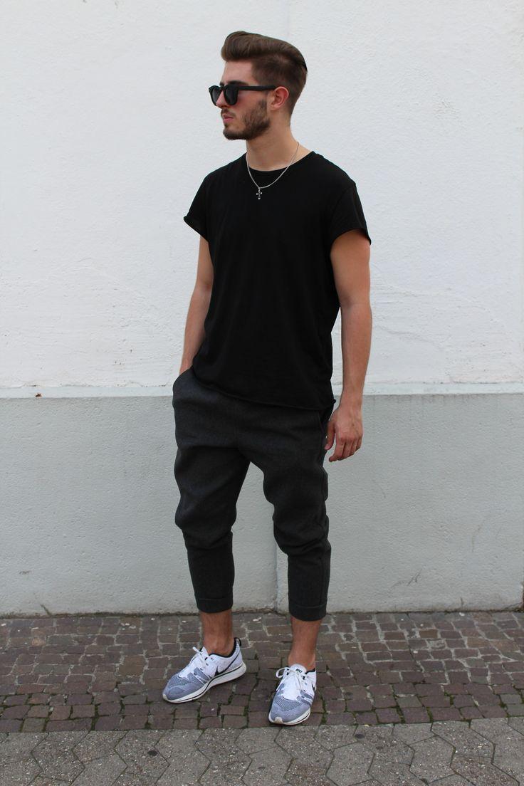 - All Black Men's Street Style & Fashion - #Fashion #Style #Mensfashion #Street #Urban http://www.pinterest.com/TheHitman14/my-style-or-lack-there-of/