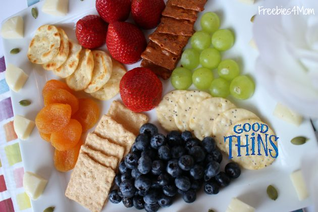 Snack on this!  GOOD THiNS are gluten-free  my GOOD THiNS Snacks, Cheese & Fruit Tray http://freebies4mom.com/goodthins  #ad