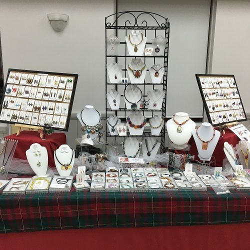 The Beading Gem's Journal: Craft Show Time | Some Setup Tips