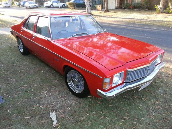 1975 HOLDEN KINGSWOOD HJ $8500