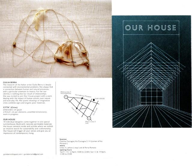 GIULIA BERRA, Our House, Goodesign 2013