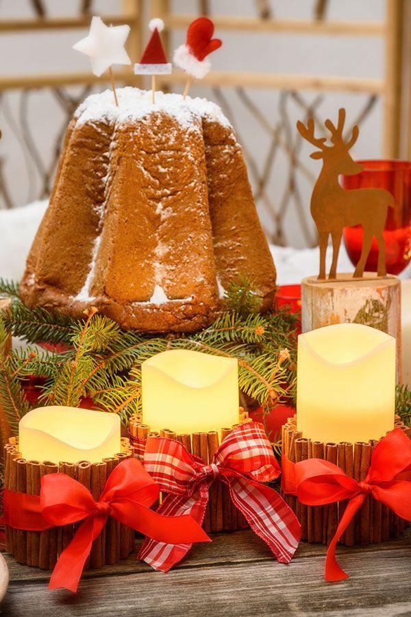 Come Fare Le Decorazioni Natalizie.Come Fare Decorazioni Con Candele Di Natale Decorazioni Candele Di Natale Decorazioni Natalizie