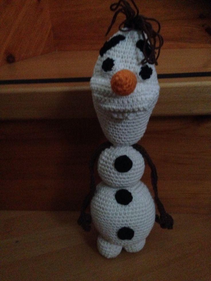 Hæklet Olaf fra frost