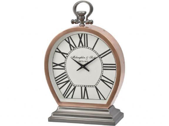 copper mantel clock | retro mantel clock | round copper mantel clock | modern mantel clock | traditional table clock
