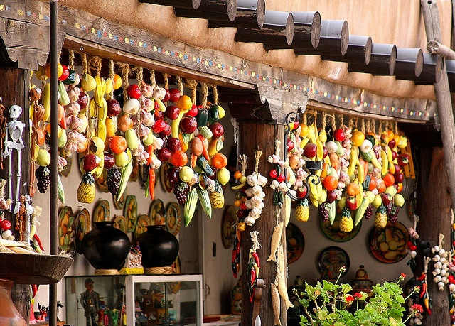 Santa Fe market. I LOVED visiting here! So much culture!