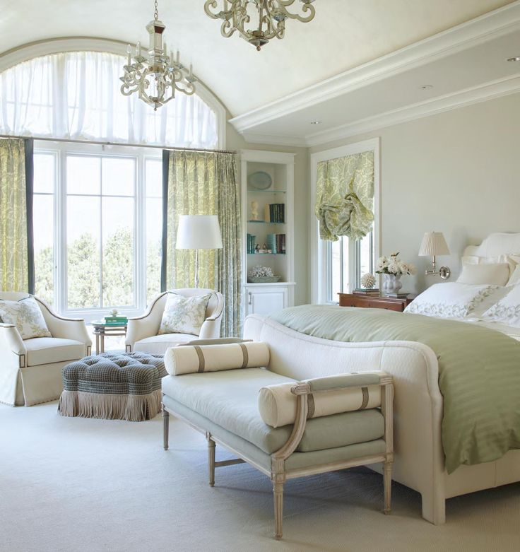 Master Bedroom Idea. repin by Ellesilk.com I like the color scheme on this room.  Country elegence.