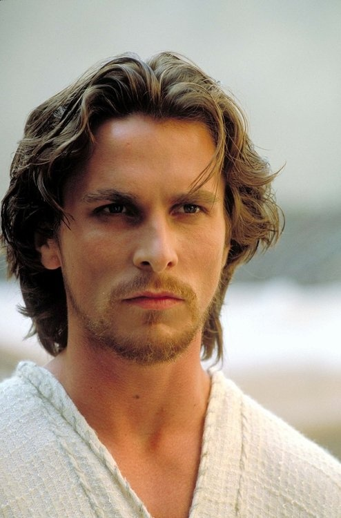 Christian Bale.... he is an amazingly talented and good-looking man.