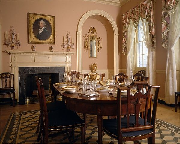 196 best dream home images on pinterest for Dining room at the met