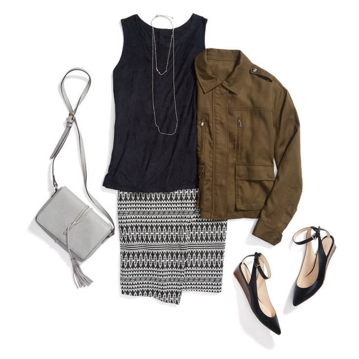 Stitch Fix: Boho Workwear