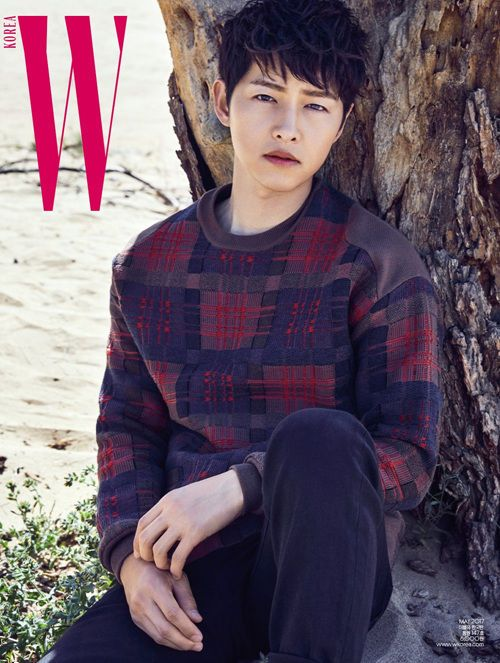 W Korea Magazine May 2017 B Type Song Joong Ki cover Descendants of the Sun
