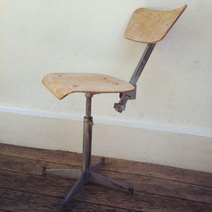 chaise industrielle dailykidsfactory dailykids factory pinterest. Black Bedroom Furniture Sets. Home Design Ideas