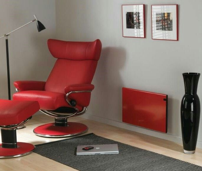 Adax Nederland VS Glamox  H30 rood in behandelkamer